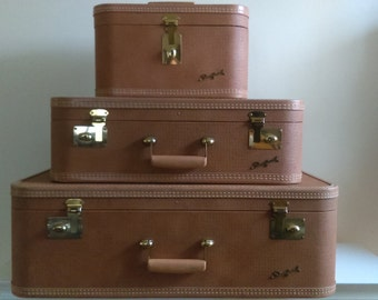 Vintage Starfrost Luggage.