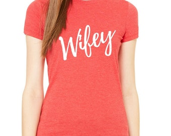 Wifey Married Tee
