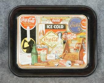 """Coca-Cola 13"""" Serving Tray C. 1985"""