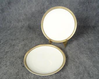 Haviland & Co. Limoges Cake Plates Set of 2 - Schleiger 1210