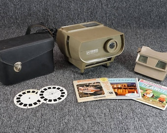Vintage Sawyer's Viewmaster Standard 30 Watt Projector And Viewer