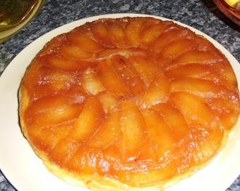 "Printable Recipe : French ""Tarte tatin"", French Cooking Recipe, French Dessert, Kitchen Tips, Apple Pie"