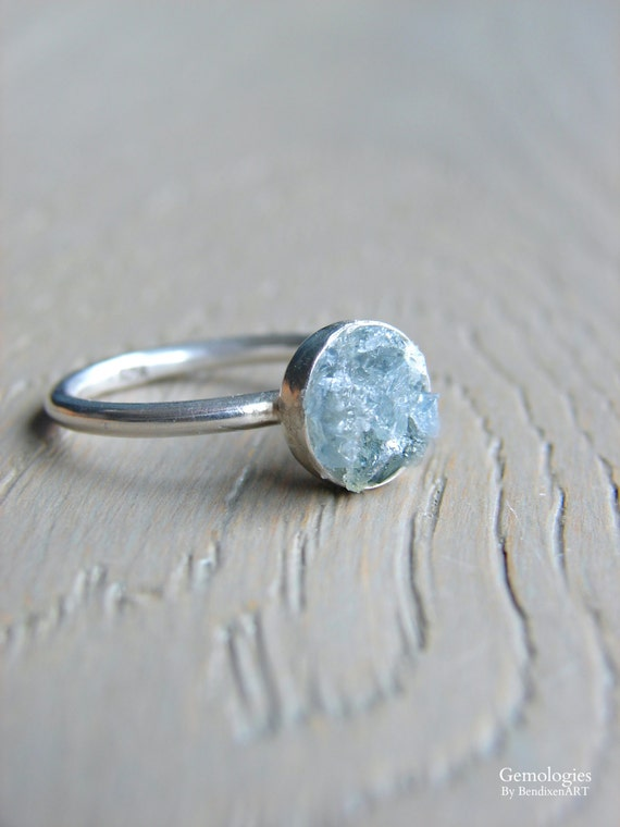 Rough Crystal Ring for...