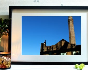 Photography industrial style at the foot of the Harbour Bridge in Sydney