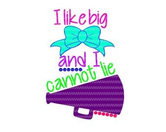 cheer svg, i like big bow svg, megaphone svg, cheer clipart, cheerleader svg