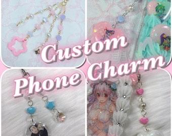Custom Phone Charms (Various Styles)