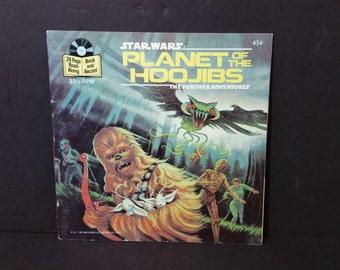 Vintage Star Wars Planet of the Hoojibs Book 1983 Chewbacca Chewie Wookiee