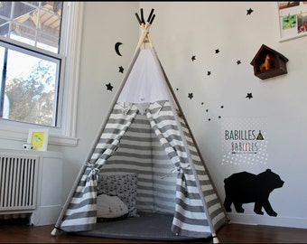 Teepee for kids, hide away, play tent for kids room