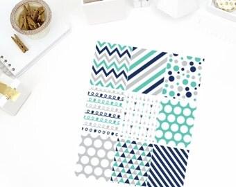 Grey's Full Box Planner Stickers! Perfect for your Erin Condren Life Planner, calendar, Paper Plum, Filofax!