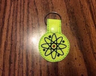 Bright Yellow Atom