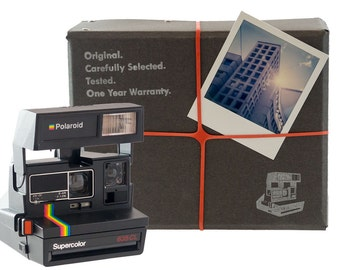 "Polaroid Camera Package - Basic: ""Square"" 