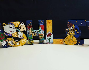 Beauty and the beast letters (Price PER letter)