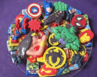 Super Hero Justice League chocolates candy tray
