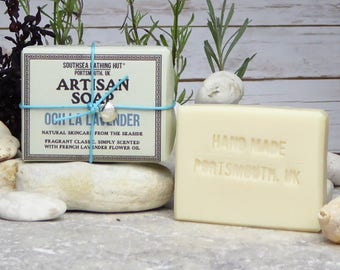 Ooh La Lavender Soap from the Coast // Handmade Soap, Natural Soap, Vegan Soap, Lavender, Skincare, Essential Oil, Southsea