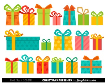 Presents Clipart Christmas Presents Clipart Birthday Presents Clipart Gifts Clipart Present Clipart Presents Clip Art Colorful Presents