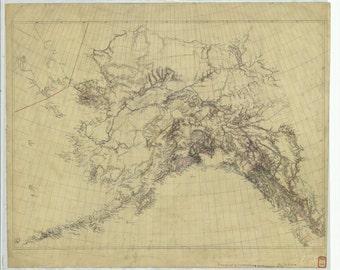 Alaska Map 1900