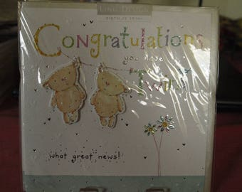 Congratulations you have Twins Card