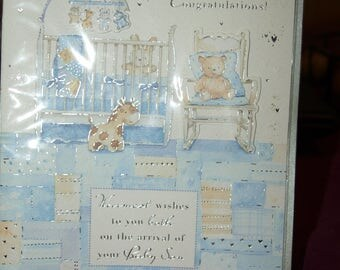 It's a Baby Boy Congratulations Card