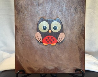 Owl Painting Canvas