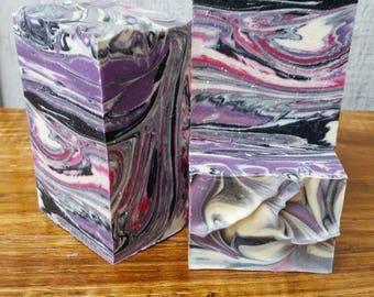 Black Raspberry Vanilla Soap, Handmade ,Artisan ,Soap Homemade ,Natural Lather Up Naturally