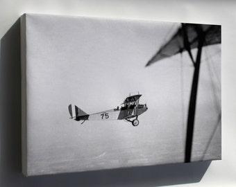 Canvas 24x36; Curtiss Jn-4 Jenny P2