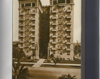 Canvas 16x24; Bryson, At Wilshire Boulevard And Rampart Street, Los Angeles (Pcard-Print-Pub-Pc-57A)