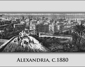 16x24 Poster; Alexandria 1880