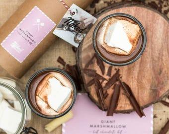 Giant Marshmallow Hot Chocolate Kit
