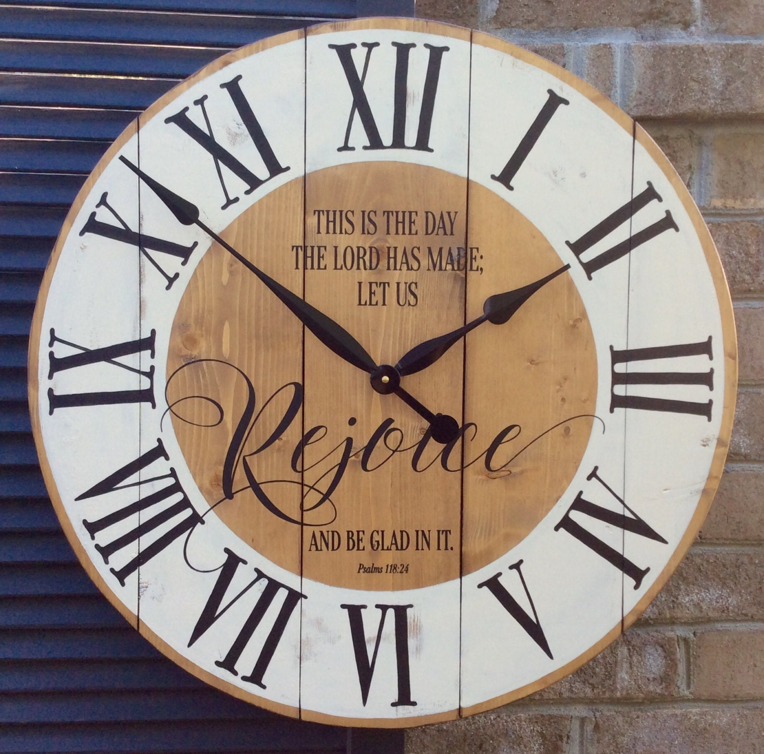 Large Wall Clocks Religious Wall Clock Bible by ...