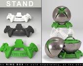 "STAND for ""X Ring BOX"" - proposal ring box, engagement ring box, xbox, x-box, gamer, geekery, ring case, wedding, joystick, game, geek box"