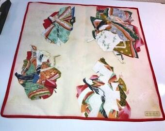 Oriental Vintage Handkerchief