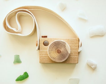 Baby Toy Camera, Baby Gift Camera, Pretend Toy Camera, Wood Toy Camera, Toy for kids, Wooden toy for girls, Wooden toy for boys