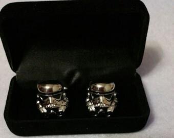Stormtrooper silver plated Cufflinks
