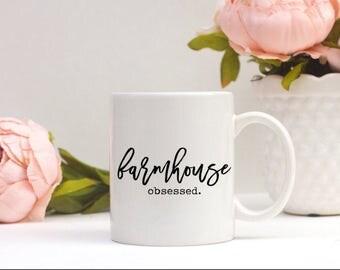 Farmhouse Obsessed Mug