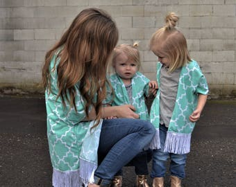 Mommy and me kimonos, mommy and baby kimonos, mom and daughter outfits, mom and daughter swim cover up, matching kimonos, mom and baby,