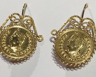 Queen Half Pound Earrings