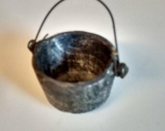 Vintage Miniature Pot w/ handle