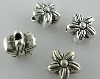 20/80/700Pcs Tibetan Silver flower Spacer Beads 5x6mm