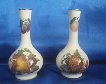Pair of Bud Vases by Henry's of Staffordshire