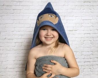 Coast Guard - Coast Guard Baby - Military - Coast Guard Gift - Coastie - US Coast Guard - Deployment Gift - Hooded Towel - Baby Shower Gift