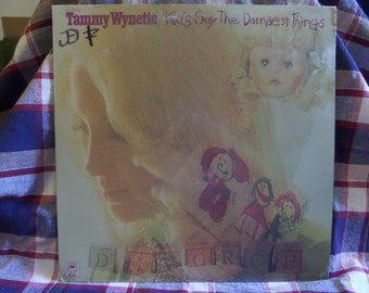Tammy Wynette Kids Say the Darndest Things Record LP Album