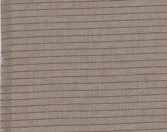 FQ - Luminous in Taupe by Anna Maria Horner Fabric - Yarn Dyed Cotton