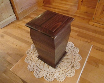Handcrafted Wooden Cremation Urn
