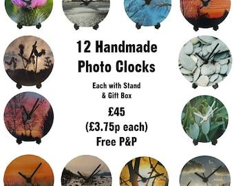 12 CD Clocks - Photography