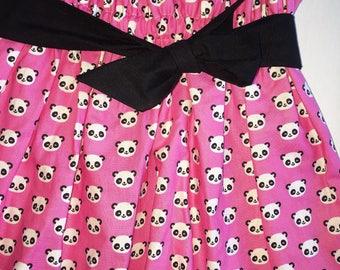 Pink Panda Play Skirt!