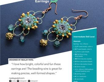 PATTERN – Starlight Earrings
