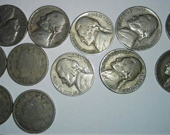 A Gaggle of Really Old Nickels