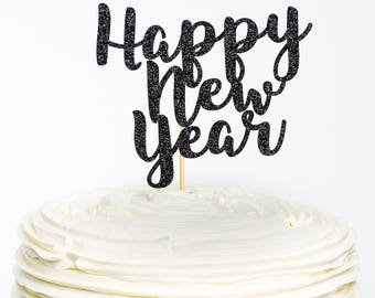 New Year Cake Images 2018 : New years party Etsy