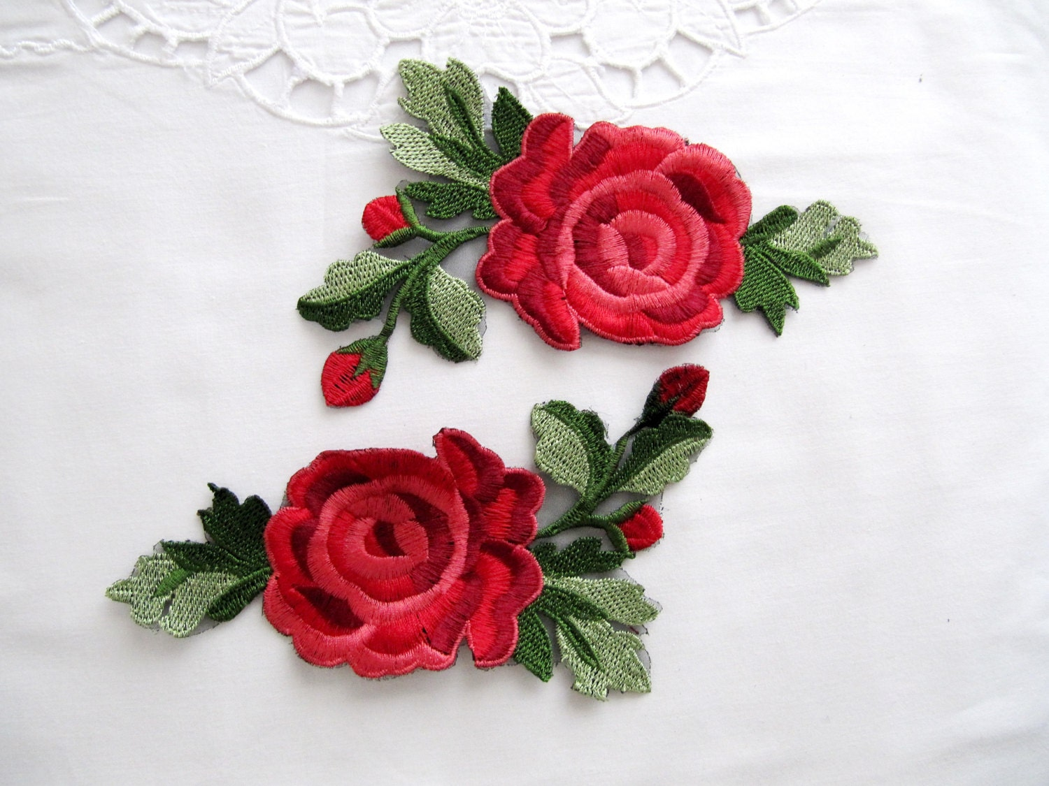 Penna flower patch buds roses pcs red rose