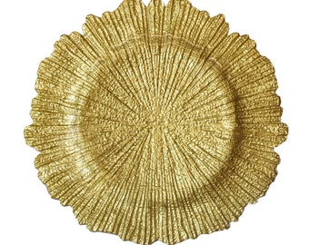 Flora Charger Plate